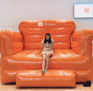 Attended #ShopeeSG1111 party at @shopee_sg office. It was an afternoon of fun exploring the new office. From now till 11.11, there's many great deals, remember to check in your Shopee app daily!  Thanks @shopee_sg for the invite, I had a lot a lot of fun~ #amandaADVERTs