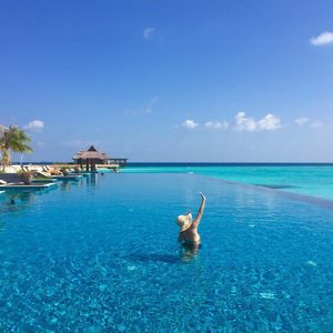 Maldives..... my oh my! Paradise on earth indeed!!! #nofilterneeded  #clozette #travel @grandparkkodhipparu