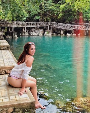 Finally got to see Malumpati Cold Springs, Pandan, Antique ✨  Saturday Trivia: The cold spring is also used to chill alcoholic beverages like beer by locals and guests. 🍻  Felt like a mermaid during our latest Antique trip. We had various water activities and had our skin baked 5 to 10 x darker than our original tones yet we also got our hearts a 💯 % happier!!! This has to be one of the best summer of my life.  @flypal : Philippine Airlines flies 3x a week between Clark to Antique  Trip made possible by Katahum Tours  For more details please check www.katahum.com  #FlyPal4stars #HeartoftheFilipino #ExperienceAntique #ExperienceWesterVisayasFirst #KatahumTours
