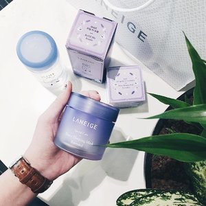 To me, this has got to be the most exciting launch from @laneigesg... because their cult product Water Sleeping Mask now comes in LAVENDER!!💜💜💜 I am a serious fan of lavender so I really can't wait to try it! With every purchase of Water Sleeping Mask, get a free Refill Me Blue Bottle. Available on @lazada_sg till 23rd May (limited to 20 sets only). Remember to quote CELLAZ 10% off all #laneigesg items, capped at $30 discounts!