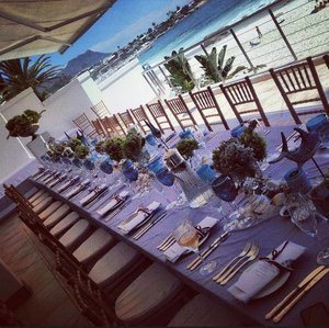 Flashback to the gorgeous lunch set up! #grc