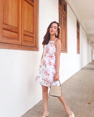 another go-to floral dress, @shopsassydream 🌷 #clozette