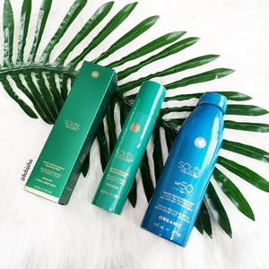 Really excited to try out Soleil Toujours suncare range. All products are 100% coral reef-safe, free of chemicals which can potentially kill the world's coral reef. Definitely environmental friendly! 💙 Sheer Sunscreen Mist SPF 50 provides superior, skin-safe protection from the sun, while also imparting advanced anti-ageing benefits. 💚 Aloe Antioxidant Calming Mist is cooling and soothing 75%+ ORGANIC mist can be applied daily for essential anti-oxidant benefits and helps calm and relieve: sunburn, windburn, chafing, itchiness, skin peeling, dry and dehydrated skin. 🛍️ Now available at @sephorasg stores and Sephora.sg ❤️ Thanks @soleil_toujours and @theprpeople for sending the products over. . . . #soleiltoujours #soleiltoujourssg #sunscreen #suncare #beauty #skincare #makeup #beauty #beautysg #sgbeauty #sp #clozette #sephorasg