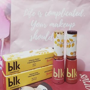 I recently bought more shades of the @blkcosmeticsph intense color liquid eyeshadows. I currently have all the released shades (shame! 😅) These intense color liquid eyeshadows are easy to use and long-lasting. A dot goes a long way! I love bringing them when I travel. 💜 . .  #makeupaddict #makeupporn #makeupjunkie #makeupmafia #makeupgeek #makeuplover #photooftheday #makeupmess #beautyjunkie #makeupvanity #makeupholic #makeup #makeupph #beauty #bbloggers #bbloggersph #clozette #eyeshadow #blk #blkcosmetics #kbeauty