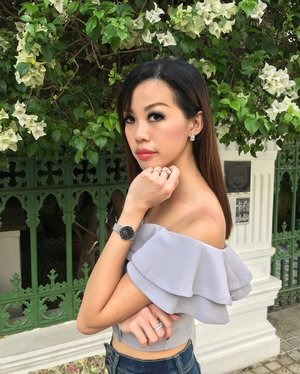 Wearing my timepiece from @danielwellington is the best way for me to keep track of time, in the fashionable way. . Wearing my latest Classic Petite Sterling timepiece, which i've collected from Daniel Wellington's latest flagship boutique located at @ion_orchard # B1-29! . Check out their bespoke collection of timepieces while you're there! . Quote  for 15% off for all purchases, when you shop in-store or at www.danielwellington.com . #DanielWellington #DWIonOrchard