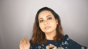 Makeup Look feat. ABH Soft Glam Makeup full length video is now up!  Link is in the bio☝️ #clozette #clozetteco #starclozetter #indianblogger #indiabloggerstrendz #youtube #youtubevideo #newvideo