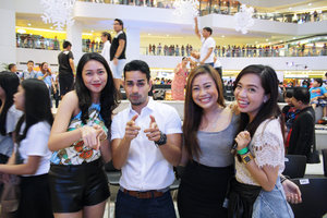 Clozette Ambassadors with Sam YG from Boys Night Out.