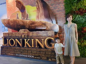 So happy to have graced #TheLionKingPH block screening by VPharma fam with my #GAVINator yesterday afternoon! Even had another #twinning moment (safari-inspired color) with @ohmygaaav 😊  And to show their appreciation & love, you can enjoy a special promo on Health Aid Bifina probiotics & Atlantic Delights Salmon Omega 3 chewables. Order thru the website (LINK on my BIO ⬆️) & use the promo code: lionking 🦁  Valid from July 17 to July 31, 2019 only & only available for their regular priced items. 😉  #VPharmaPH #HealthForEveryFamily #HealthAidPH #Bifina #AtlanticDelightsPH #Omega3 👑