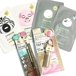 Yesterday's haul 💖 Character sheet masks from @thefaceshopph and eyebrow products from @kpalette_ph so excited to try these! #beautyblog #makeupmess #holygrail #makeupjunkie #makeuptalk #makeuplover #makeup #makeuptalk #fotd #makeupporn #igbloggerph #instamakeup #faceoftheday #makeupoftheday #makeuplovers #beautyblogger #beautybloggers #bblog #makeupmafia #makeupobsessed #bblogger #bbloggers #bbloggersph #fotd #instabeauty #productreview #clozette