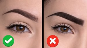 6 COMMON EYEBROW MISTAKES And How To Avoid Them - YouTube be original look bila lukis kening