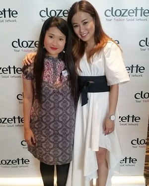 Met @charisow  yesterday at #ClozetteBloggerBabes #letsbememorable #clozette. Ain't she looks like @yanasamsudin  a bit kañ ? Heheh.  #syafierayamincom  #blogger  #mommyblogger  #BloggerMalaysia  #youtuber