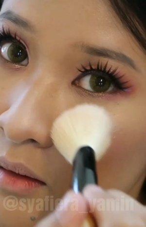 main-main makeup .. nanti I list out all the makeup brand.. I tahu you all mesti tahu semua brands I pakai ni Kan... saja nak praktis untuk event besok.. panas lit lit juga besok that's why I tak nak skip guna sunscreen.. esok tema purple/pink boleh lah ni.. hee.. #syafierayamincom #MakeupTutorial #beautyblogger #Skincare #Makeup #clozette