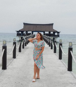 Balesin Getaway, Finally back here in my favorite paradise. Pulling off my colorful dress from @koffeeclothing 💖
