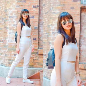 My white suit's up. 😎More of this look at www.tinacruz.tumblr.com 😊#OOTD #clozette #pilipinasootd @pilipinasootd