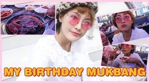 New video is up and sorry it is a lil bit late😅: https://youtu.be/IQ7IIiil3OM ✨✨💕 will post a glimpse of this video within today✨💕😸 THANK YOU! #samgyupsal #먹방 #birthdaymukbang #happybirthday  #linkinbio #cocomanuel #김치 #조아해  #clozette