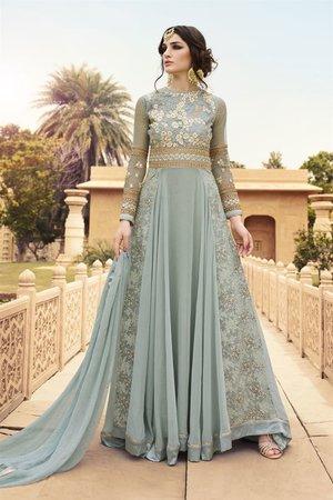 Designer Anarkali Suit for Indian Wedding