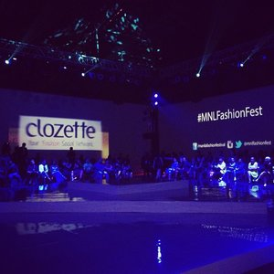Waiting for the show to start. @clozetteco and #GlamAsia is happy to be part of this event! #Clozette #MNLFashionFest