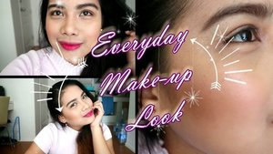 PLEASE! guyz don't judge me, LOL! I love make-up but i don't know how to use make-up. This is me trying to do a make-up tutorial for all the girls who love make-up but trying hard to do the make-up, this is for you. Am I making sense? I guess, this is my last attempt to do a make-up tutorial. HAHAHAHAHAHA!. Click the link on my bio loves.