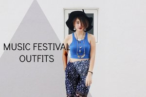 Music Festival Outfits // Missalvy - YouTube