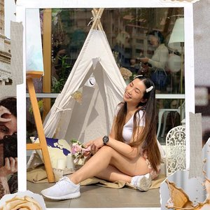 Did I do #glamping right? A big shoutout to @clozetteco for being 8 this year! It's not easy being in this digital landscape, where constant shifts occur regularly. To more wonderful years to come and congrats @glammama.sg & team for coming this far! #clozette #clozetteteaparty2019