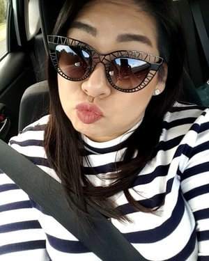 Going on a road trip down south to Margaret River!  Taking silly videos while Hubs is driving.  Sunnies are Steel Cat from #quayaustralia Lipstick is Patina from #stila  Have a good Tuesday! 😚  #clozette #igmakeup #instamakeup #sgmakeup #sgblogger #beautyblogger #bblogger #motw #makeuplover #makeupaddict #makeupcrazy #makeupjunkie #makeupchat #makeupporn #makeuptalk #wakeupandmakeup #trendmood #meccabeautyjunkie #hudabeauty #makeuphoarder #makeupmess #makeuphaul #stilacosmetics