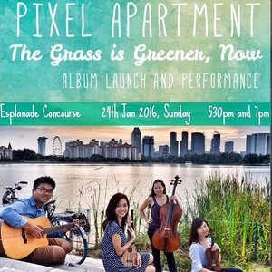 Pixel Apartment debut album launch! Be there or be square! 😉  #potd #pixelapartment #albumlaunch #musicians #music #clozette