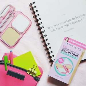 I'm ready to step up my beauty game this school year with the new and improved @MaybellinePH Clear Smooth All-In-One Powder 💪🏼 Review on my blog soon! ☺️ #stepupchallenge #maybellineph #clozette