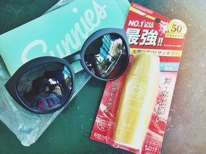 Sunnies and Sun Killer = Perfect Summer Combo! :)
