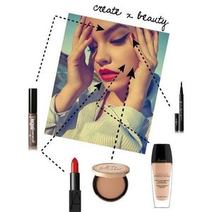 Dare to be BOLD 💋 #polyvore #makeup #clozette #lotd