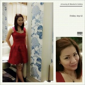Throwback #OOTD Friday with Red Bandage Dress