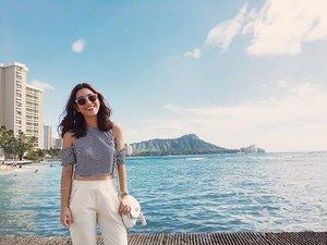 Aloha awakea 😊  #ALOHAliday #Clozette #igdaily #Travel #Waikiki