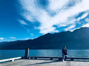 Back in New Zealand with the hubby, but this time for work. And unlucky me is sickkkkk. 😢  How I miss the amazing beautiful sights of New Zealand.. I'd be back again soon (not for work!)