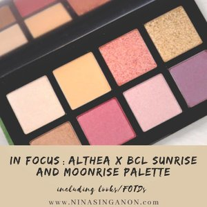 NEW on NINASINGANON.com: In Focus - Althea x BCL Sunrise and Moonrise Eyeshadow Palette . Find out more about this eyeshadow palette on the blog and why I have been enjoying using it.I even included mini textorials (text tutorials LOL) on some looks I created using this palette (as well as some other @altheakorea make up products).😊 . Click the link on my Bio or head on over to www.NinaSinganon.comfor deets! #altheaph #altheaangel