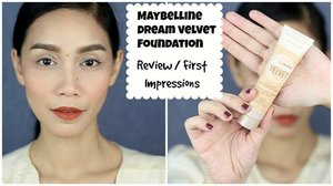 Here you go🙌🏻Here's my review and first impressions on the newly released foundation and it's the MAYBELLINE DREAM VELVET SOFT MATTE HYDRATING FOUNDATION. This is how it looks like on my dry skin! I hope you like this video and find this helpful. XOXO 💋💖 #bbloggersph #clozette #beautyguru #youtuber #beautyenthusiast #bblogger #youtuber #pinay #pinayyoutuber #maybelline #maybellineph #maybellinevelvetmatte @maybelline @maybelline_phillippines