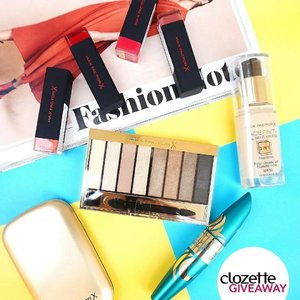 @Regrann from @clozetteco -  CLOZETTE GIVEAWAY: Win a set of #MaxFactor goodies (worth PHP5,500) and create your best girl boss look! All you have to do is:1. FOLLOW @clozetteco on Instagram,2. LIKE this photo,3. COMMENT to share your favourite empowering quote and tag your bestie. *Giveaway runs from now till 2 August (11:59PM), and is open to residents of Singapore, Malaysia, and the Philippines.#ClozetteGiveaways #Clozette @MaxFactorPH - #regrann