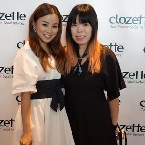 With gorgeous and funny @charisow learning about blogging and YouTube-Ing  at #clozette #clozettebloggerbabes #letsbememorable #youtuber