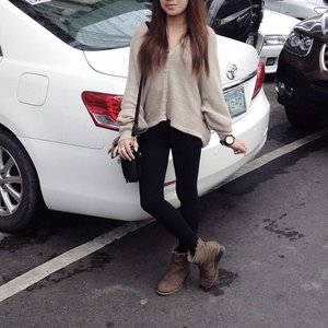 Can't wait to head to Baguio and wear somethin thick and ofc see the juan and only @migosalvana #ootd #clozette