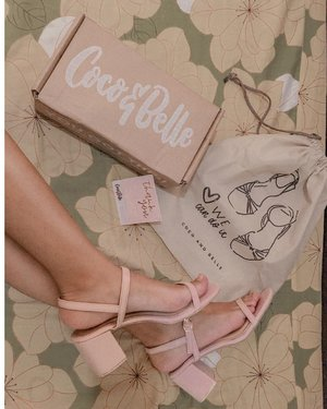 """Received this pair last Tuesday and today I get the chance to finally use this!!! (you can check my IG stories/highlight """"Coco and Belle"""" to see how it compliments my look today) . Meet Sylvie in Light Pink! Don't worry, this color can be #YourEverydayPair too as pastels go well with neutrals/nudes and whites. .  You can get this pair in colors Light Pink, Light Camel, Nude and Black for only Php720 per pair (with dust bag!!) .  Shop thru @coco_and_belle website cocoandbelleph.com . Link is on their bio! .  I bet you'll enjoy browsing their NEW collection as much as I do! Happy Shopping! . #YourEverydayPair #CocoandBelleShoes #clozette"""