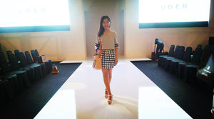 my simple OOTD in KLFW day 1, watching over the YeSIR collection, feel a bit under-dress seeing how everyone donning.  #KLFWMagazine #klfw2015 #klfwrtw2015 #clozette
