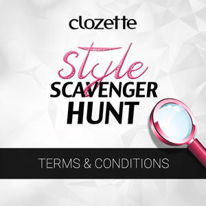 Clozette Style Scavenger Hunt | Terms and Conditions [see below]