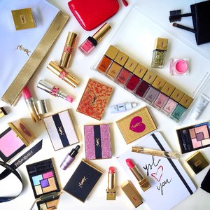 Adding some Spring 2015 to my YSL beauties & limited edition packaging ✨✨✨