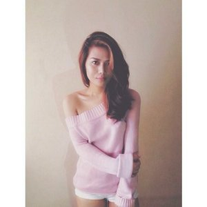 It's always sweater weather here in the Philippines so I've been loving pullovers, knits and sweater lately. Loving my pink pullover I've had a lot of compliments of it. I just love pairing it with a white short for a bed cuddle weather. Soon on the blog http://fashtriad.blogspot.com/ #ootd #ootdph #clozette #pinkislove