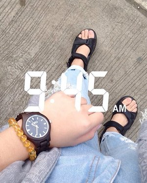 manong vibes Thursday  wearing @woodwatches_com x @bijouphilippines gemstone charm bracelet  #Clozette