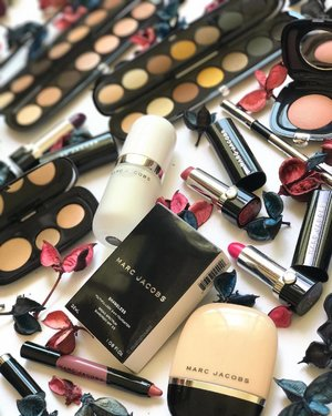 A little #makeupmess from @marcbeauty today - I found this photo in my phone and don't recall having posted it! I love all the #makeup here - #eyeshadows, #palettes, #lipcrayons, #blush, and #foundation! Also you can probably tell from this #flatlay that I love my neutrals, haha! __________ #clozette #beauty #cosmetics #marcbeauty #marcjacobsbeauty #marcbeautysg #marcjacobsbeauty #marcjacobs #luxurybeauty #luxurymakeup #eyeshadow #eyeshadowpalette #foundations #makeupflatlay #makeupjunkie #makeupaddict #makeupcollection #makeupobsessed #makeupaddiction #luxurymakeup #beautyjunkie