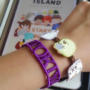 My kind of lace bracelets ♡