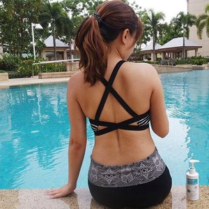#JuneunicornGiveaway x #BioPielSkincare Today is such a good day for a swim, not too sunny, the pool water ain't too chilling and no #Bacne #BackAcne wearing my swimwear. Say #GoodbyeBacne / #GoodbyeBodyAcne with Korea's No. 1 Best-Selling #BodyLotion, the #BioPielPetitAtoBodyLotion contains nutritive ingredients (Cypress Tree Extract soothes sensitive skin and Ceramide & Hyaluronic Acid helps to balance the oil & water and maintains moisture level in the skin), specially formulated to target those stubborn #BodyAcne, even #ChestAcne.  The presence of ECO CERT certified Cypress Oil Extract helps to provide relief for the overactive sebum glands that cause skin to be oily and more prone to acne, preventing the formation of acne. Cypress Oil Extract also contains antiseptic properties which helps to speed up the healing time. It is lightweight and has a soft texture that is fast-absorbing without any stickiness. It also works amazingly as a daily moisturizer and can be used on both the body and the face. It actually smells quite therapeutic as well.  The #BioPiel Petit Ato Body Lotion (400ml) retails at $59.90 and is available at all @SaSaSingapore #SaSaSingapore outlets and online at @BeautyCarousel #BeautyCarousel #BeautyCarouselSG.  How to #WINsg? 1) Follow @BioPiel_SG & @Juneunicorn on Instagram. 2) Like this post. 3) Share with me how Body Acne has affected you with the hashtag #BioPielSG and Mention 3 friends in the Comment section. 4) *Extra Chance* Go to my Juneunicorn - Caren Foo Facebook page for another chance to #sgWIN. ^The winner chosen would have to do a review post on their social media after they have received and tried the Bio-Piel Petit Ato Body Lotion (200ml), so your IG account has to be public.  #ContestSG ends this Saturday, 13 October 2018, 2359pm. *Terms & Conditions apply. This #GiveawaySG is only for those in #Singapore #SingaporeGiveaway. Good Luck! 🙂  #Clozette #Beauty #Skincare #Bodycare