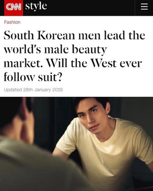🦁🦁🦁 A major personal milestone achieved: got quoted for an article on CNN about men's beauty! ---------------------------------