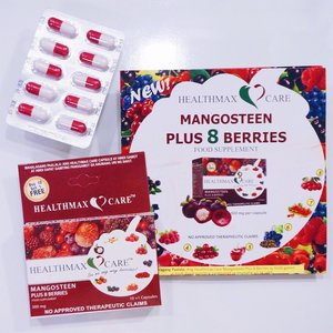 Something to add to our vitamins and supplements is the @healthmaxcare Mangosteen Plus 8 Berries. 😉 I'm all about natural living and this supplement not only has mangosteen that is known for its anti-cancer and anti-inflammatory properties, but 8 berries too, namely Acai Berry, Bilberry, Raspberry, Cranberry, Acerola, Grapeseed, Wolfberry or Goji and Hawthorn. These berries are recommended for people with heart disease, diabetes, high blood, high cholesterol, arthritis and so much more. 🤩 Imagine all those in just 1 capsule and each capsule is only P25.00! You might want to consider so check it out at @mercurydrugph . It's available now. Cheers to good heath for you and your families. 👍🏼 #mommyblogger #momblogger #yellowmum #mommybloggerph #mombloggerph #yellowyum #msyellowyum #lifestyle #lifestyleblogger #blogger #manilablogger #lifestylebloggerph #youtube #youtuber #youtuberph #clozette #vlogger #vloggerph #pinayvlogger #bloggerph