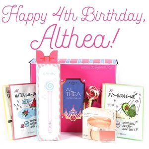 Happy 4th birthday, @altheakorea! We've been enjoying four years of hassle free #Kbeauty shopping already woot woot🦄🦄🦄This July, orders will come with a pretty carnival themed box, a lollipop pen, and a raffle stub! 🍭🍭🍭Tons of Althea Magic Points (aka GC's) will be given away and there'll be deals and steals left and right. Be on the lookout! 👀 Lastly, read their blog post to learn about how you can win a trip for 2 to Korea!!! 🇰🇷🇰🇷🇰🇷 #AltheaTurns4 #AltheaKorea #AltheaCarnival #FlyMeToKorea