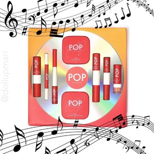 The pop princess' makeup brand! 🎵🎵🎵@popstudioph will have to be the most practical celeb makeup launch ever as the products all have dual functions—lip tint with lipstick (in one tube), blush with contour (in one pan), mattifying and color powder (also in one pan). 🎶🎶🎶 Hindi kailangang pumunta ng kilometrong layo as you can get these babies online at @lazadaph and @shopee_ph! 🧡  #popstudioph #YourBeautyFriendForever #SarahGeronimo #SarahG